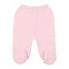 Frente de calças de Malha 100% algodão de cor Rosa Claro.